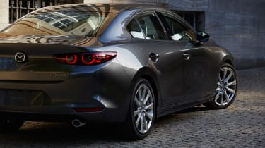 Mazda 3 Fastback - rear detail