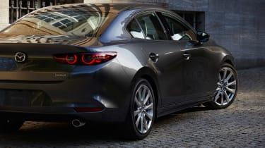 Mazda 3 Fastback - rear detail
