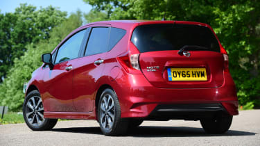 Used Nissan Note Mk2 - rear