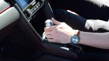 Honda Civic long-term review - gear lever