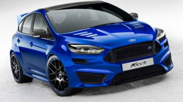 Ford Focus RS 2016 front