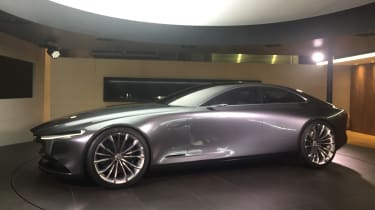 Mazda Vision Coupe concept - front static