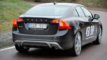 Volvo S60 hybrid 450bhp prototype