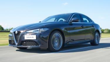 Alfa Romeo Giulia - front tracking 3