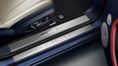 Bentley Continental GT Mulliner Convertible - door sill