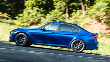 BMW M3 CS - profile