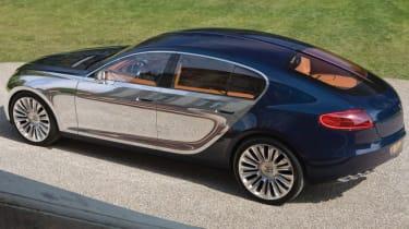 Bugatti 16C Galibier - rear