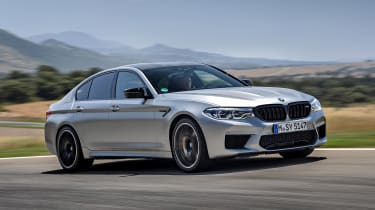 BMW M5 Competition - front action