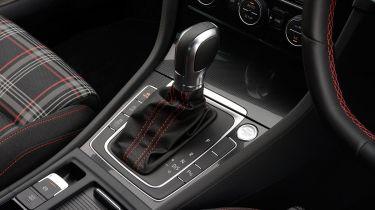Volkswagen Golf GTI DSG gearstick