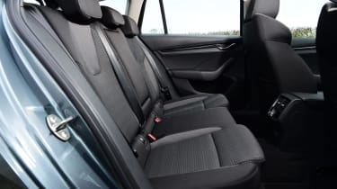 Skoda Octavia Estate - rear seats