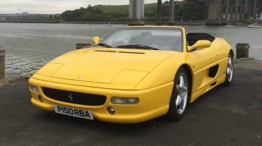 Ferrari F355 yellow