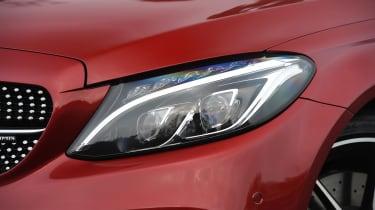 Mercedes-AMG C 43 - front light detail