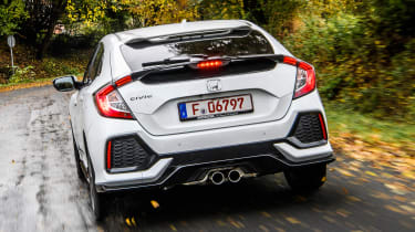 Honda Civic 2016 prototype - rear tracking