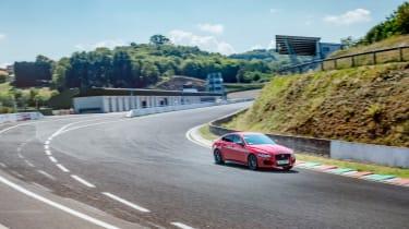 Jaguar XE at Cleremont Ferrand