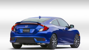 Honda Civic Coupe revealed - rear
