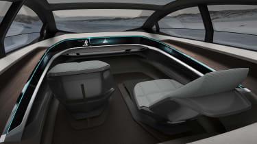 Audi Aicon concept - dash