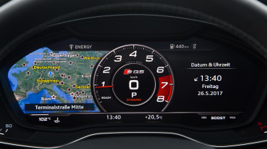 Audi SQ5 - dials