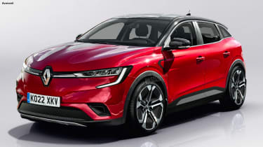 Renault Megane E-Tech SUV - best new cars 2022 and beyond