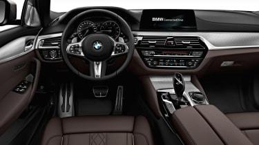 BMW M550d xDrive - dash