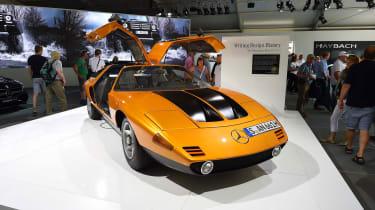 Mercedes classic concept car