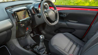 Used Citroen C1 - cabin