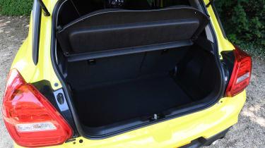 Suzuki Swift Sport long-term test - boot