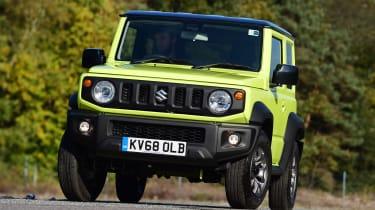 Suzuki Jimny - front action