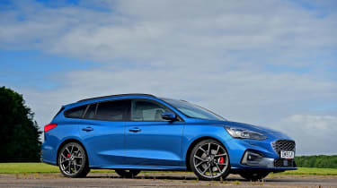 Ford Focus ST Estate - front static