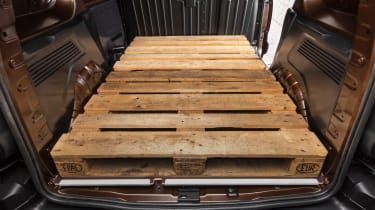 Vauxhall Combo - loading space