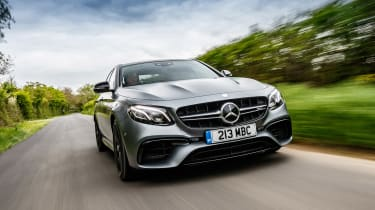 Mercedes-AMG E 63 S - front action
