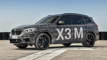 BMW X3 M Performance - front