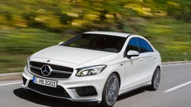 Mercedes A-Class saloon exclusive image