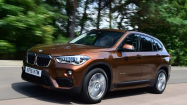BMW X1 2016 - front tracking