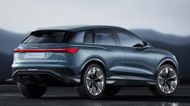 Audi Q4 e-tron concept - rear studio