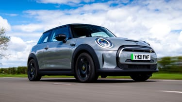 MINI Electric - front