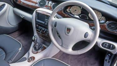 Rover 75 estate interior