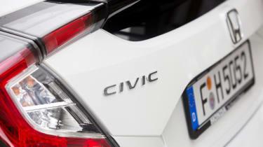 Honda Civic 2016 prototype - rear detail