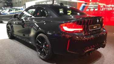 BMW M2 Coupe Edition Black Shadow - rear