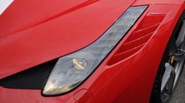 Ferrari 458 Speciale front light
