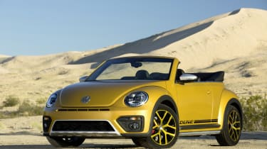 VW Beetle Dune side front static