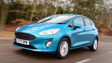 Ford Fiesta - best cars for less than £10 per day