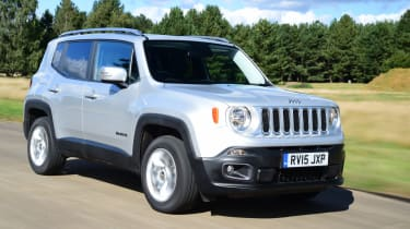 Jeep Renegade  2.0 Multijet Limited 4WD 5d 2016 INDOOR CAR COVER