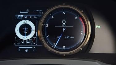 Lexus IS 200t F Sport - dash
