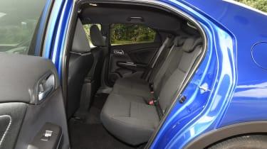 VW Polo - rear seats