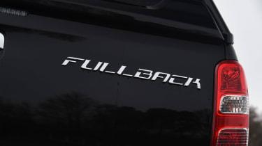 Fiat Fullback - Fullback badge