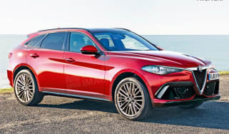 Alfa Romeo large SUV - front (watermarked)