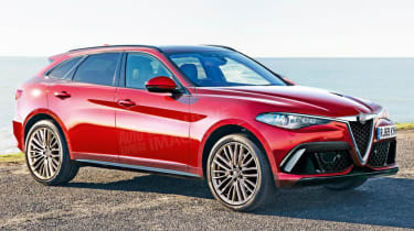 Alfa Romeo large SUV - front (watermarked)