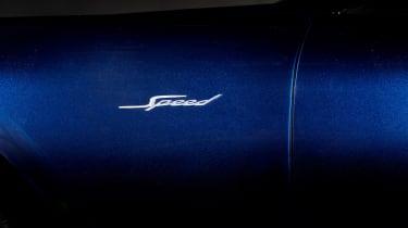 Bentley Continental GT Speed convertible - badge
