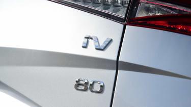 Skoda Enyaq iV 80 - rear badge