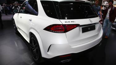 New Mercedes GLE rear